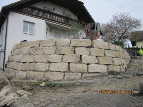 Gartenmauer Leubnitz